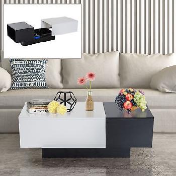 Mesa De Centro Extensible Mesita Mueble Salon Comedor Mesa Auxiliar