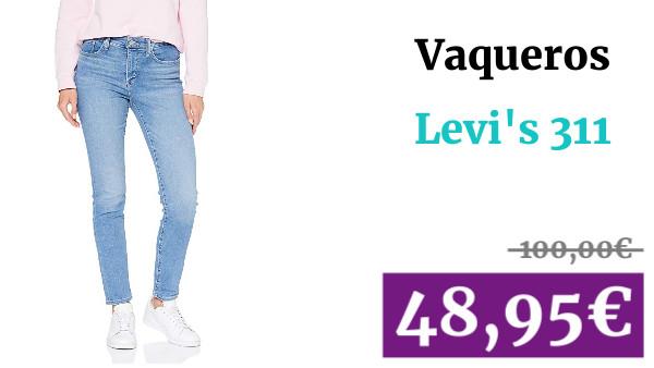 Levi's 311 Shaping Skinny Vaqueros para Mujer VaDeGangas