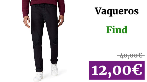 Marca find Vaqueros Skinny Hombre