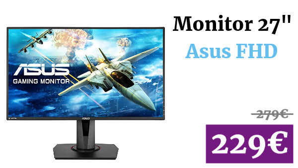 "Monitor 27"" FHD Asus"