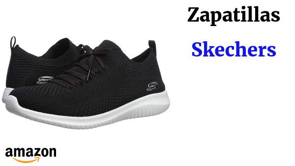 97700351d4a Skechers Ultra Flex-Statements, Zapatillas sin Cordones para Mujer ...