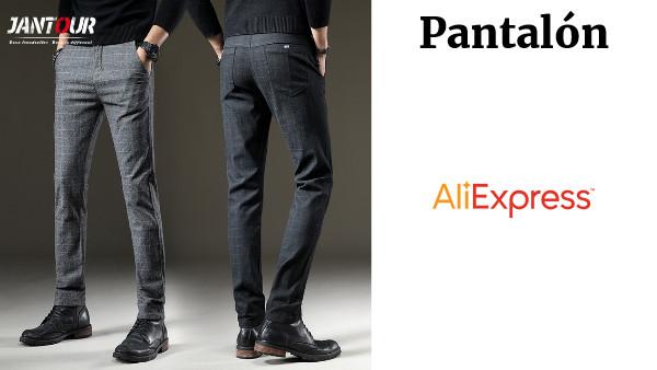 79afadd7 Jantour marca pantalones de otoño pantalones casuales de los hombres  elástico pantalones largos pantalones de hombre