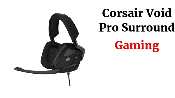 Corsair Void Pro Surround - Auriculares Gaming (PC/PS4/XONE, USB/3.5mm, Dolby 7.1) Color carbón