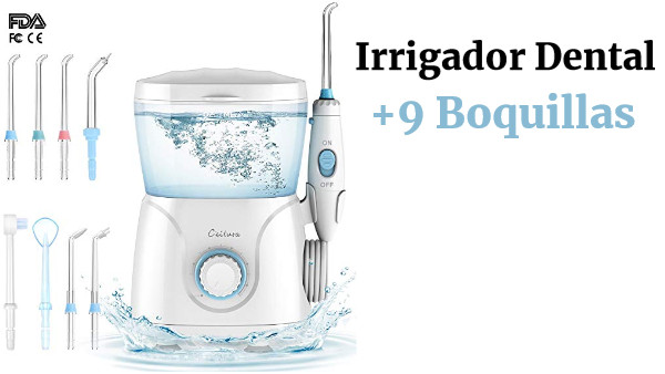 Irrigador Dental Profesional +8 Boquillas