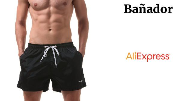 Playa Hombre Cortos Pantalones De Bañadores YD29WHIE