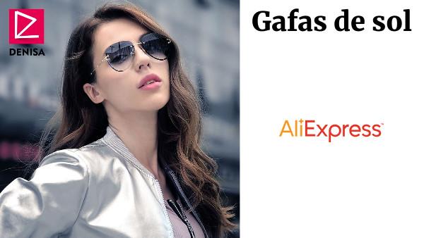 c7378b19c6 DENISA de moda azul aviación roja gafas de sol de las mujeres hombres tonos  UV400 gafas