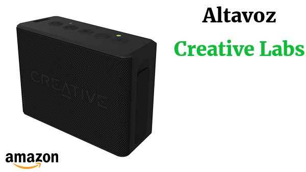Creative Labs 51MF8250AA000 - Altavoz con Bluetooth