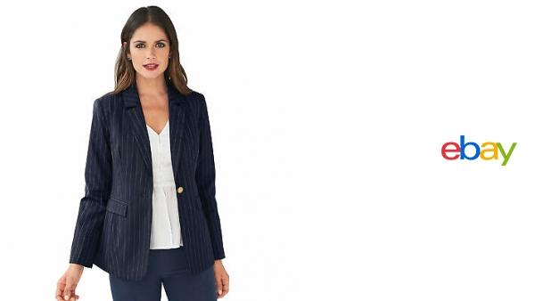nuevo estilo mas fiable busca lo último Americana rayas con solapas mujer by VencaStyle - 010245 ...