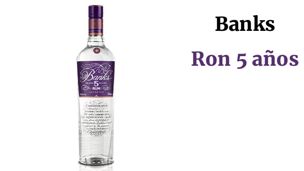 Banks Ron 5 años - 700 ml