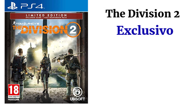 The Division 2 Exclusivo Amazon para PS4