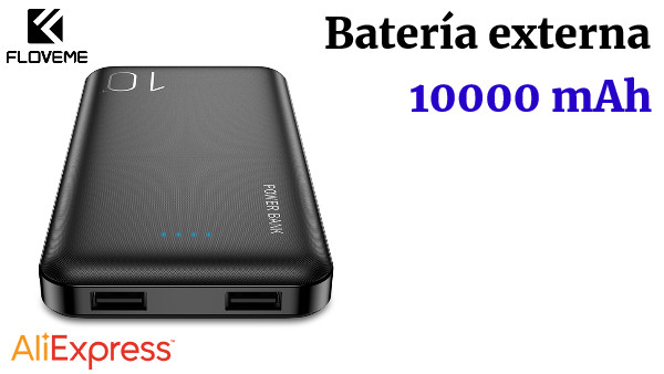 FLOVEME Power Bank 10000 mAh para iPhone Xiaomi batería externa cargador portátil mi Powerbank Poverbank Power Bank