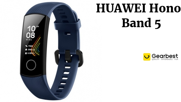 HUAWEI Honor Band 5 Smart Bracelet Sports Smartwatch Standard Version International Edition