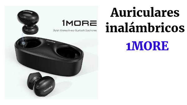 1MORE ECS3001B True Wireless Earbuds Black