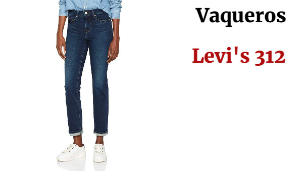 Levi's 312 Shaping Slim Vaqueros Mujer