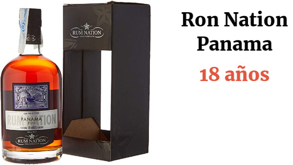 Ron Nation Panama 18 Years Solera 2016 40% 70 cl