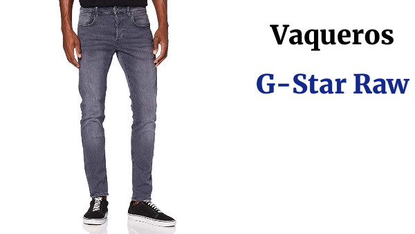 G-STAR RAW 3301 Deconstructed Slim Jeans para Hombre