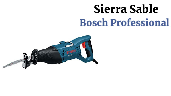 Sierra Sable Bosch Professional +Extras