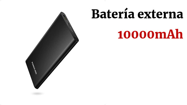 POWERADD Pilot 2GS Pro Batería Externa 10000mAh PD18W Cargador Portátil con Type-C Power Bank Power Delivery Carga Rápida 3.0 para iPhone, iPad, Samsung, Huawei, Xiaomi Note 7 y Más Dispositivos