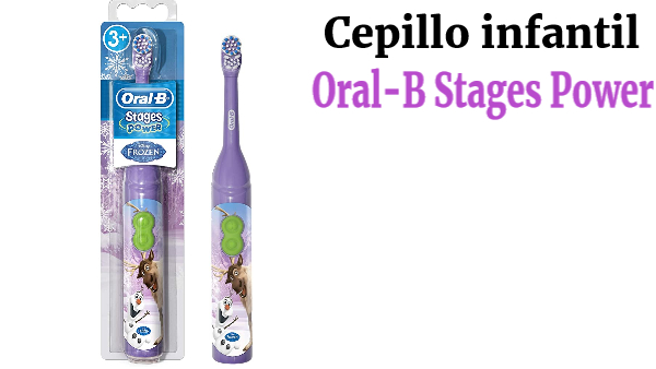 Cepillo infantil Braun Oral-B Stages Power