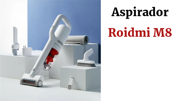 ROIDMI M8 Cordless Vacuum Cleaner 18000Pa Vacuum Degree DC Brushless Digital Motor Mite Remover Mattress Vacuum Cleaner